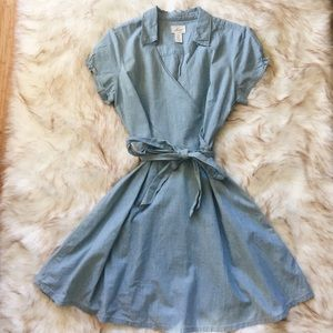 levi's denim dress